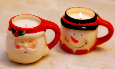 Holiday Mug Candles