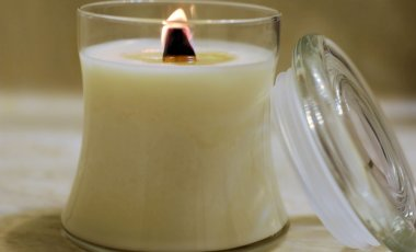 Interlude Soy Wooden Wick Candle